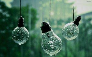 Luces llovidas