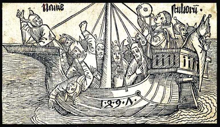 La barca de los locos